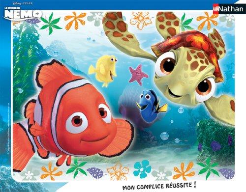 Nathan 86106 - Puzzle a quadro, Nemo e Squiz, 35 pezzi