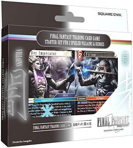 Square Enix Products Final Fantasy TCG Versus Decks Heroes & Villains (DE)