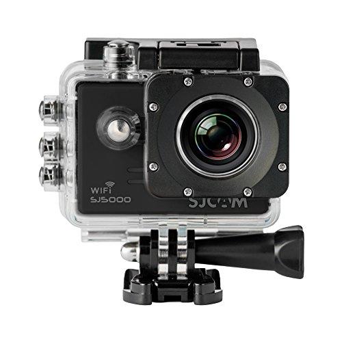 SJCam SJ5000 WIFI (versión española) - Videocámara deportiva (LCD 2.0'', 1080p 30 fps, sumergible hasta 30m) color negro