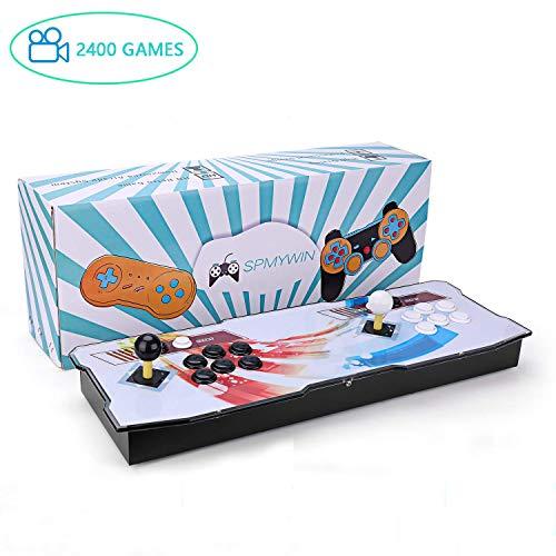 Spmywin 2400 Retro Games Pandora Box 6 Console Giochi 1280x720 Full HD Arcade Machine Videogiochi Portatili Console CPU Avanzata Mini Console
