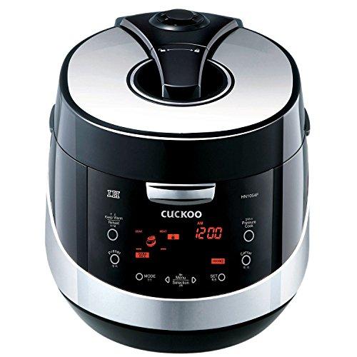 Cuckoo Digitaler Induktions-Reiskocher mit Dampfdruck und 'Fuzzy Logic' Technologie, CRP-HN1054F (1,8L, für bis zu 10 Personen)