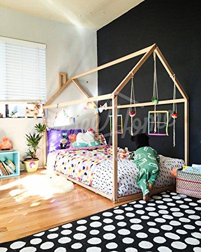 Letto casa Montessori per materasso 140x70cm