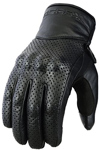 Belüfteten Handschuhe Motorrad Genuine Leder & Gelenk Schutzhülle 1