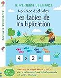 Les tables de multiplication (3,4,6 et 8) - Mon bloc d'activités - Je m'entraîne, je m'amuse