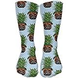 Men Women 1 Pineapple Pug Cotton Crew Athletic Sock Casual Socks