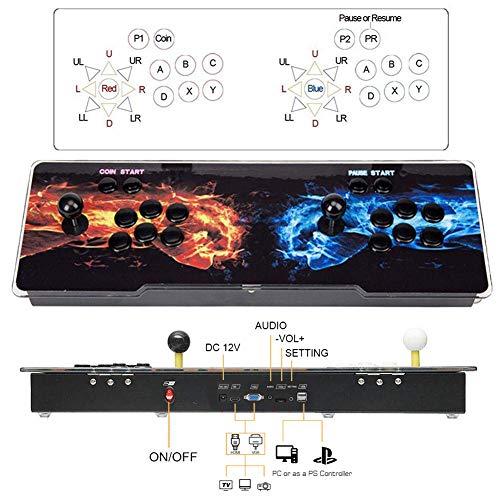 SeeKool Pandora 11 Console de Jeux vidéo Arcade, 2255 en 1 Console de Jeux vidéo HD Retro, Commandes de Jeu à 2 Joueurs Double Stick Arcade ... 27