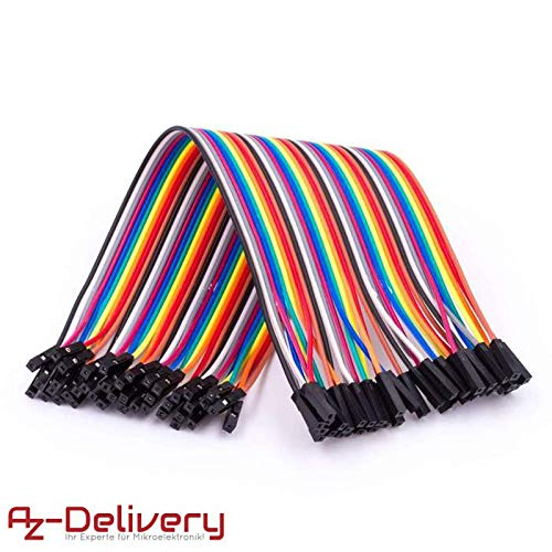 AZDelivery Jumper Wire Cable Cavo F2F per Arduino