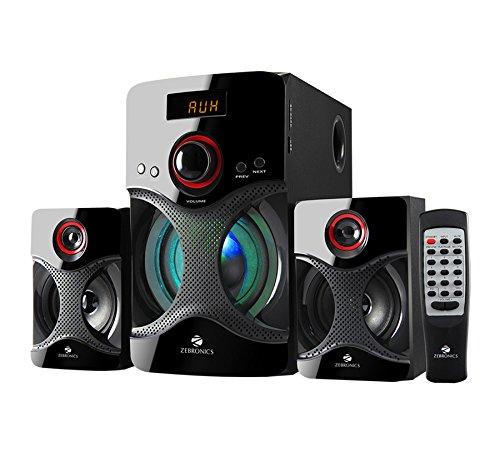 Zebronics 2.1 Bluetooth Multimedia Speaker BT3440RUCF