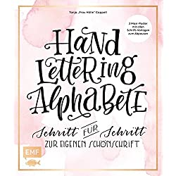 Handlettering Alphabete: Schritt für Schritt zur eigenen Schönschrift – 2 Maxi Poster mit allen Schrift-Vorlagen zum Abpausen