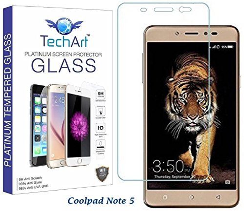 TechArt™ 2.5D Ultra Thin UNBREAKABLE FLEXIBLE Tempered Glass Screen Protector for Coolpad Note 5