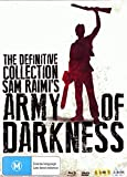 Army of Darkness: The Definitive Collection (3 Dvds and 2 Blu rays)