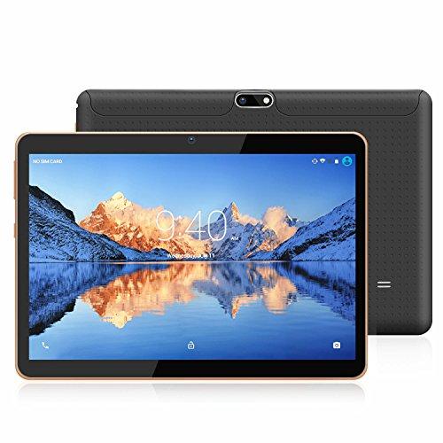 Tablet 10.1 Pollici 3G/WiFi YOTOPT - Android 7.0, Quad-core, RAM 2 GB, Memoria interna 16 GB, Bluetooth/ GPS/OTG -Nero