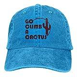 Gorra Go Climb a Cactus Azul Electrico