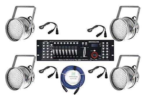 Showlite PAR-64 10mm bundle LED para principiante I