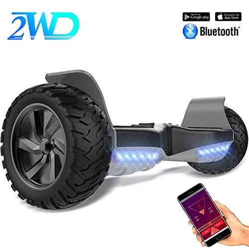 2WD Hoverboard Auto bilanciamento 8.5 inch Fuoristrada Balance Board con App Scooter da 8,5 Pollici...