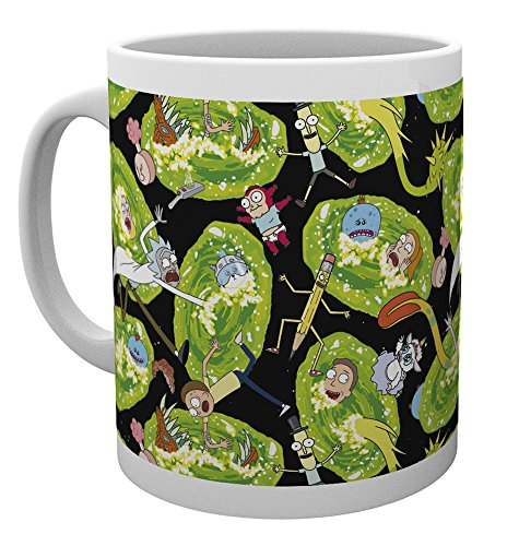 GB Eye LTD, Rick y Morty, Portals, Taza