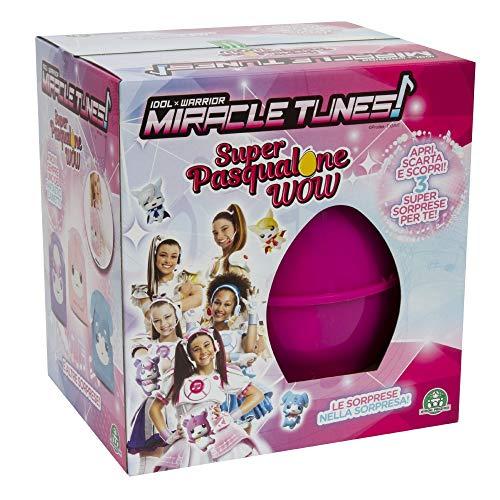 Giochi Preziosi Pasqualone 2019 Miracle Tunes, Contenitore a Forma di Uovo con Tante Sorprese