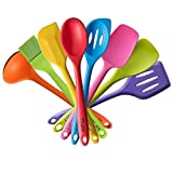 TTLIFE Silikon Küchenhelfer Set 8-teilig, bunt
