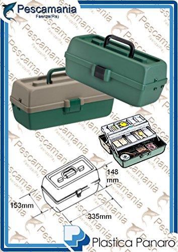 valigetta cassetta cassettina porta oggetti piccola mm. 335x153x148H