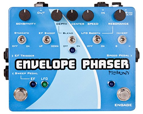 Pigtronix Envelope Phaser Effects Pedal