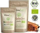 Bio Ceylon Zimt gemahlen (250g) mit wenig Cumarin in premium Qualita?t   100% ECHTES Bio Ceylon Zimt Pulver