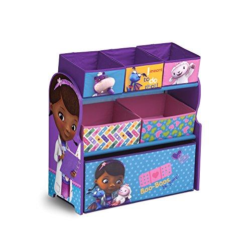 Delta Children - Organizador de juguetes, diseño de la Doctora Juguetes de Disney