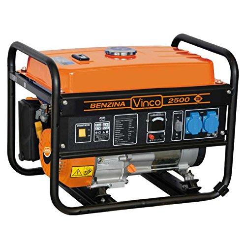 Generador de corriente Gasolina 2,2kW Motor monofásico