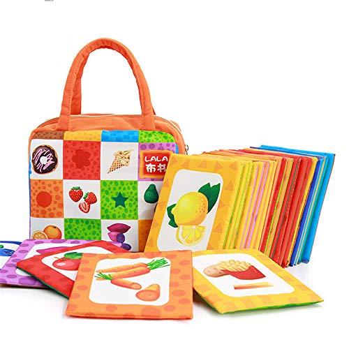 Giocattoli per Bambini Libro di Stoffa Libro di Palm Puzzle di Educazione Precoce Non Ha Paura di...