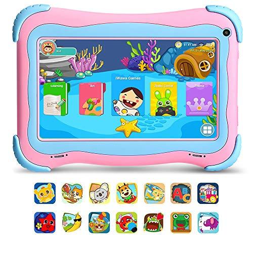 [2019 New] YUNTAB Q91 7 'Tablet Android 8.1 per bambini - con certificazione GMS, CPU quad-core, 1...