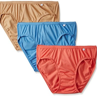 Jockey Women's Cotton Bikini (Pack of 3) (Color May Vary) 18