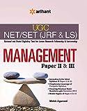 UGC NET/SET (JRF & LS) Management Paper II & III