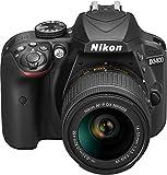 "Nikon D3400 con Lente Nikkor AF-P 18/55VR, Fotocamera Reflex Digitale, 24,7 Megapixel, LCD 3"", Colore Nero"