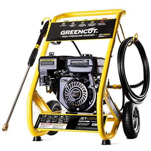 Greencut JET260X Hidrolimpiadora motor gasolina 208cc 8cv