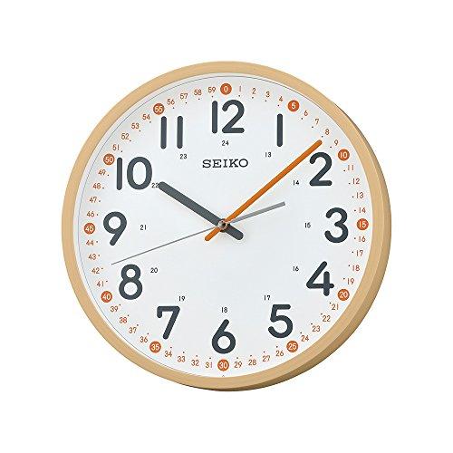 Seiko QXA712Y - Orologio da Parete Silenzioso