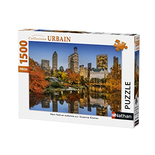 Nathan Puzzle New York in Autunno 1500Pezzi, 87788
