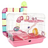 Little Zoo Henry Cage, Pink