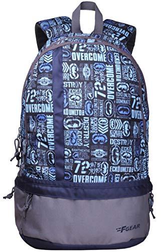F Gear Burner 20 Liters P10 Sky Blue Casual Backpack