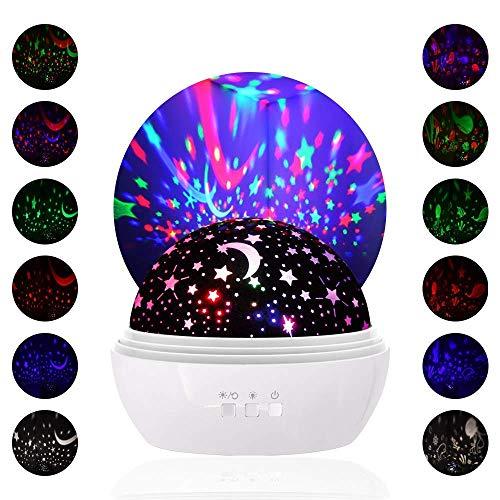 Luci notturne per bambini,LOBKIN Proiettore per luce notturna, Lampade decorative per la casa, Baby...
