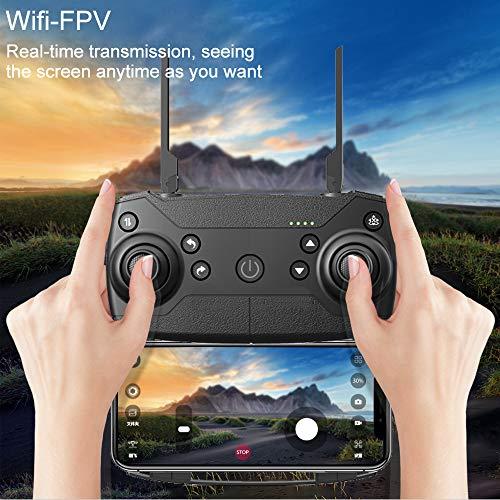 Tianya Drone X Pro 5G Selfi WIFI FPV GPS avec HD Quadcopter pliable RC 1080p pour la famille et les amis (noir) 13