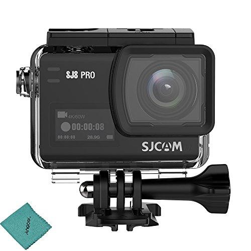 SJCAM SJ8 PRO 4K Videocamera Action Cam / 60FPS WiFi 2,3 Pollici Touch Screen con obiettivo...