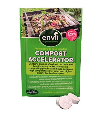 Envii Compost Accelerator - Bacterial Treatment Speeds Up Composting Process – 12...