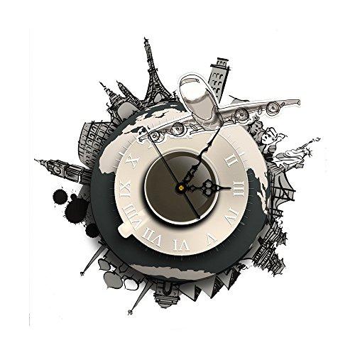 WHLXCQ Orologio Da Parete Creativo Personalità Creativa Orologio Da Parete Orologio Muto Movimento Moda Bella Ambientale Senza Rumore Orologi Da Parete