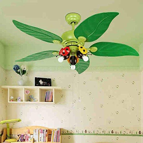 I bambini Camera Camera soffitto del LED illumina il ventilatore Studio Fan Luci Kindergarten...