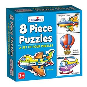 Creative Educational Aids P Ltd 0772 Puzzles 8 Piece