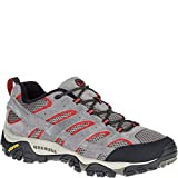 Merrell Men's Moab 2 Vent Hiking Shoe, Charcoal Grey, 8.5 2E US