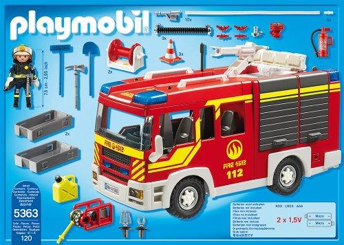PLAYMOBIL 5363 – Löschgruppenfahrzeug mit Licht und Sound - 3
