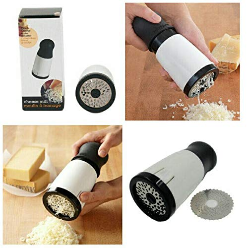 MOHAK New Arrival Portable Manual Cheese Grinder Mill Cheese Grater Slicer Kitchen Seasoning Grinding Tools Kitchen Accessories 5