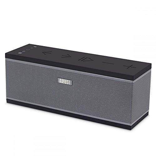 Schnurloser Multiroom Wi-Fi Lautsprecher - August WS150-10W (WLAN/Airplay/Spotify Connect/DLNA/NFC Bluetooth/SD)