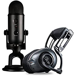 Blue Blackout Yeti + Mo-Fi Ninjas in Pyjamas Ultimate Pro Streamer Bundle