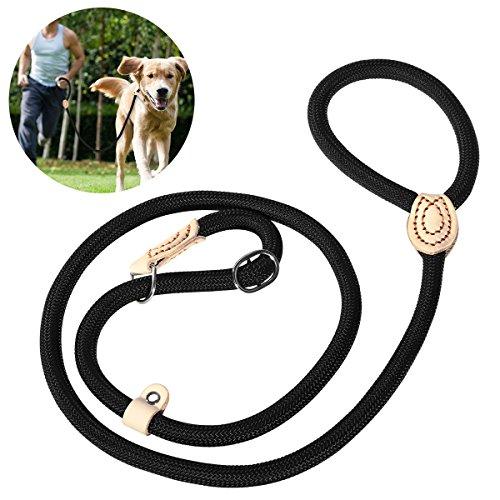 UEETEK 120CM Guinzaglio per la formazione del cane, Guinzaglio resistente al cane, Guinzaglio di...